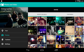 Screenshot of Bandsintown Manager