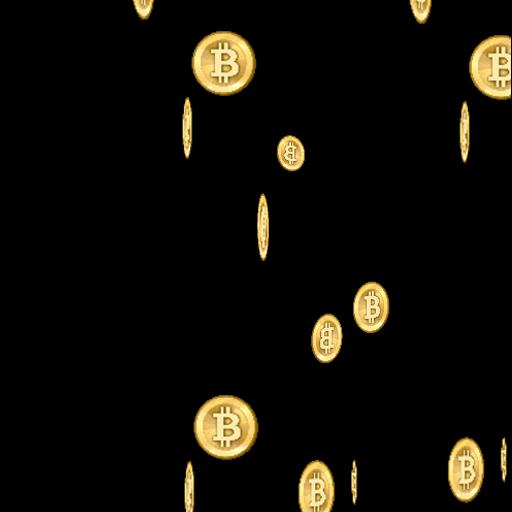 Bitcoin Rain Live Wallpaper 個人化 App LOGO-硬是要APP
