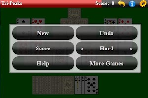 Screenshot of Tri-Peaks Solitaire