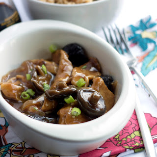 Black Mushrooms With Chinese Greens Recipes