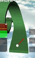 Screenshot of One Shot Putting Golf