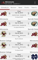 Screenshot of College Hockey News