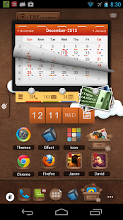 TSF Launcher 3D Shell APK for Bluestacks