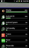 Screenshot of Coffee Battery Widget