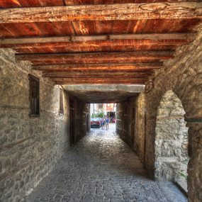 passage by Branislav Rupar - Buildings & Architecture Public & Historical ( passage, stone )