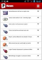 Screenshot of Fantasy Football PickEm