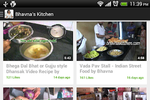Screenshot of Bhavna's Kitchen