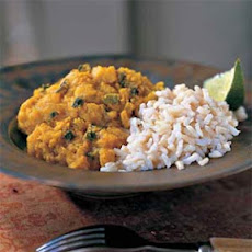 Fragrant Red Lentils with Rice
