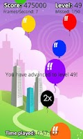 Screenshot of Balloon Frenzy