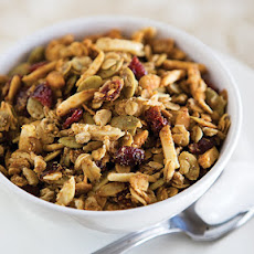 Simple Sunflower Seed Granola