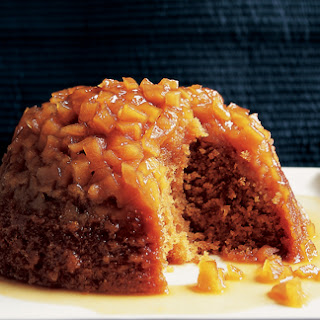Steamed Toffee Apple Pudding