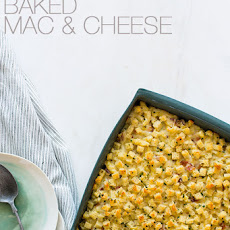Five Cheese Baked Mac & Cheese