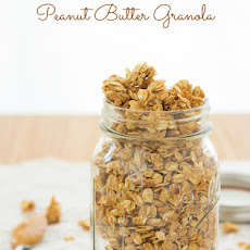 4-Ingredient Peanut Butter Granola