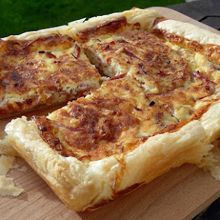 Quiche Lorraine with Slow Cooked Pulled Gammon