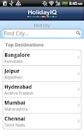 Screenshot of HolidayIQ India