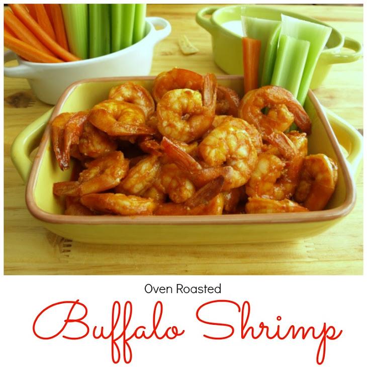 Oven Roasted Buffalo Shrimp Recipe | Yummly