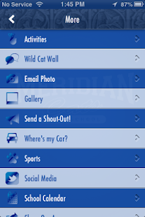 Meridian High School Athletics - screenshot