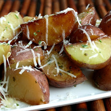 Cheesy-Italian Pressure Cooker Potatoes