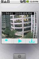 Screenshot of IPCam Widget