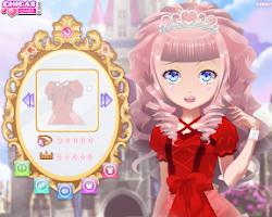 Screenshot of Princesas Juego de Vestir