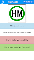 Screenshot of Motorcycle Permit Test Lite