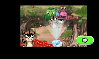 Screenshot of Daring Raccoon HD