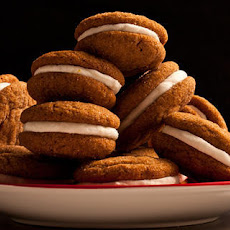 Gingersnap Sandwich Cookies with Lemon Filling Recipe