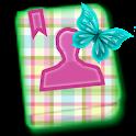 GO CONTACT-PreciousPastelPlaid icon