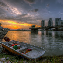 The End Of The Journey by Mohd Tarmudi - Transportation Boats ( putrajaya lakeside,  )