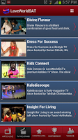 Screenshot of LoveWorld SAT Mobile