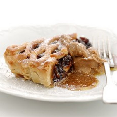 Lattice Mincemeat Dessert Tart