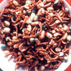 Spicy-Sweet Asian Nut Mix