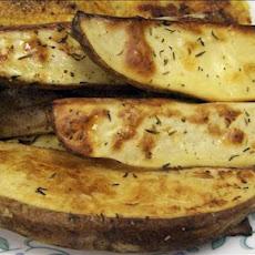 Oven Baked Golden Potato Wedges