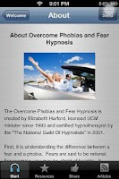Screenshot of Cure Phobias And Overcome Fear