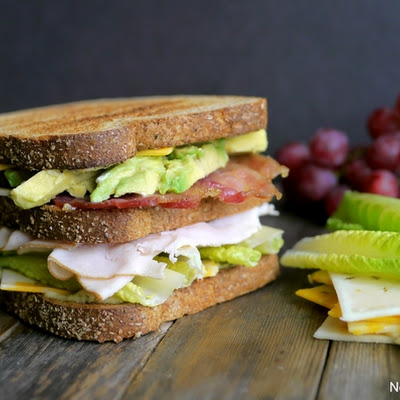 Ultimate Manly Picnic Sandwich