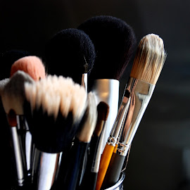 Brushes by Marcus Mendoza - Artistic Objects Other Objects ( brushes, make-up )