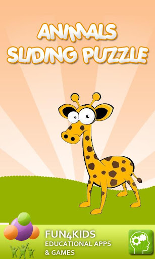 Animals Sliding Puzzle Game
