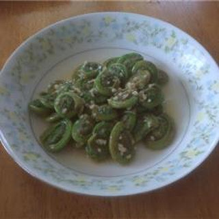 Fiddleheads Recipes