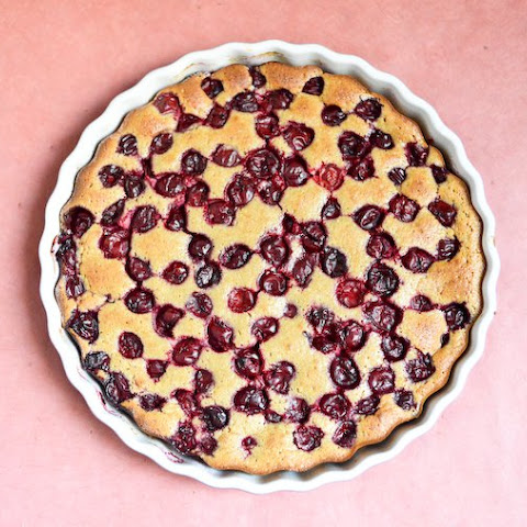 Cherry Clafoutis with Chestnut Flour