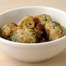 Turkey Kefta with Sweet Onion and Raisin Sauce