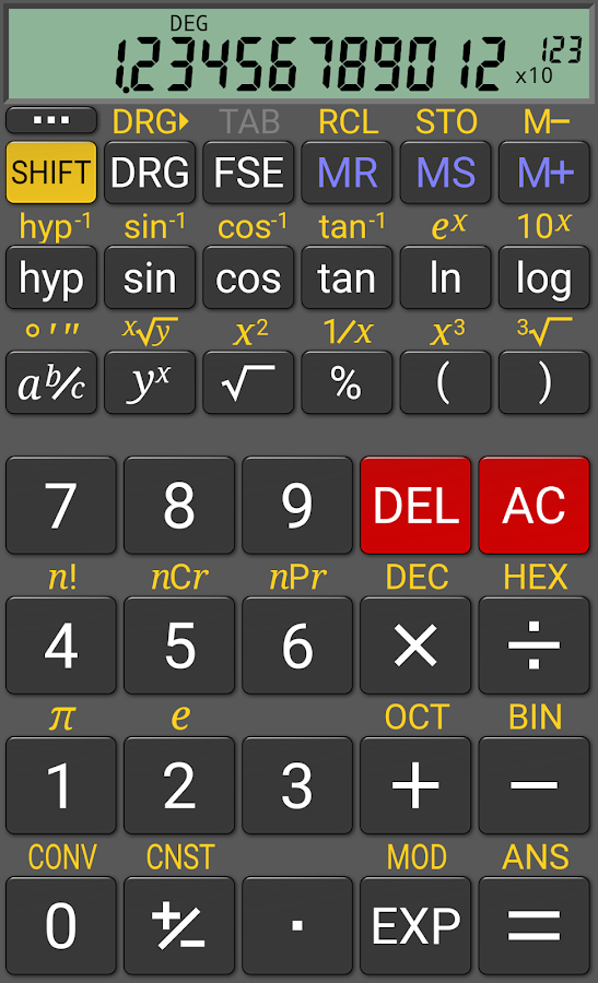 RealCalc Plus Screenshot 0