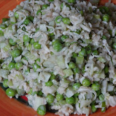 Peas and Rice Salad With Buttermilk Dressing