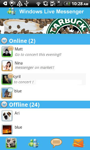 messenger-withyou for android screenshot