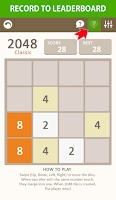 Screenshot of 2048 Number Puzzle