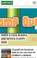 Screenshot of Publimetro Chile
