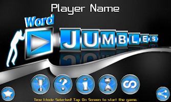 Screenshot of Word Jumbles