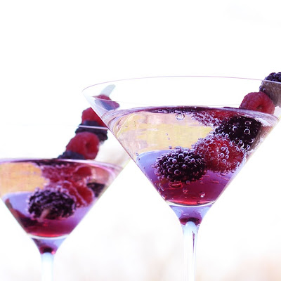 Mountain Berry Martini