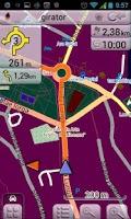 Screenshot of Map of Romania