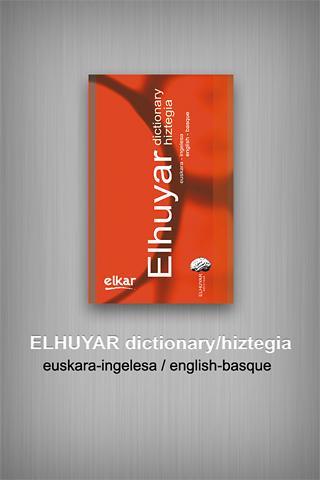 Elhuyar dictionary eu-en