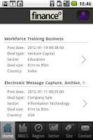 Screenshot of FinancePlus